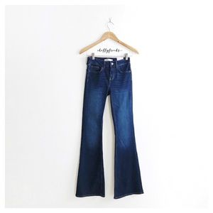 NWT ∙ Zara ∙ Basic Flare Denim Jeans
